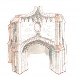 The Shell House – sketch as existing